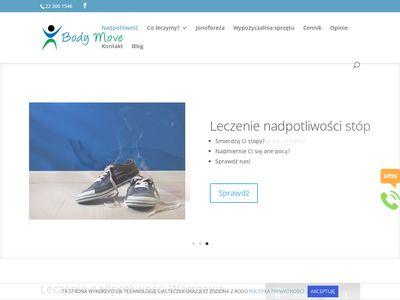 Nadmiernapotliwosc.warszawa.pl leczenie