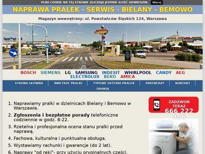 Napraw-pralek.warszawa.pl serwis Bemowo