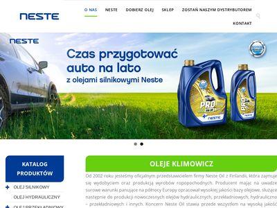 Olejeklimowicz.pl oleje samochodowe