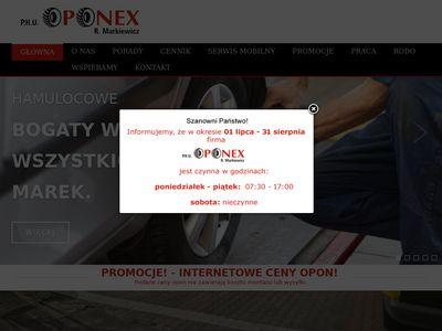 Oponex-belchatow.pl - opony