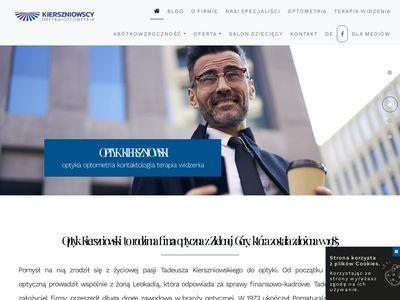 Optyk Kierszniowski badania okulistyczne