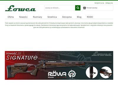 Lowca.pl sklep myśliwski