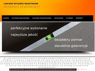 Lan-bud.eu wylewki maszynowe Katowice