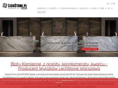 Lechstone.pl blaty łazienkowe kuchenne