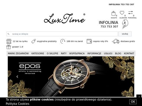 Luxtime.pl - zegarki damskie i męskie