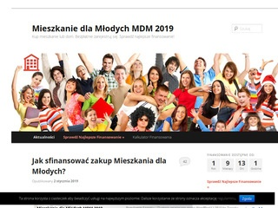Mieszkaniedlamlodych.com