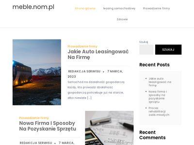 Studio meblowe Jerzy Kałdus meble kuchenne