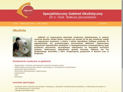 Januszewskiokulista.com.pl