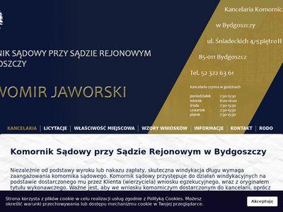 Jaworski Sławomir windykacje komornicze