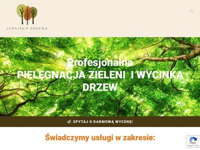 Jurajskiedrzewa.pl pielęgnacja i wycinka
