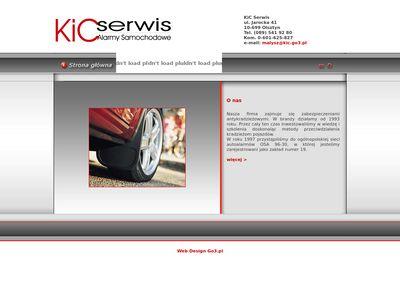Alarmy KiC Serwis immobilizery