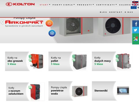 Kołton kotły co producent