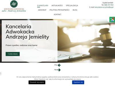 Kancelaria adwokacka adw. Andrzej Jemielita