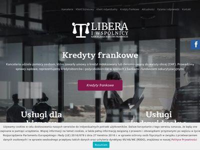 Kancelarialibera.pl słupy na działce