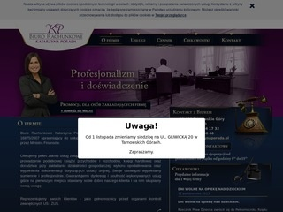 Księgowość Tarnowskie Góry - Katarzyna Porada