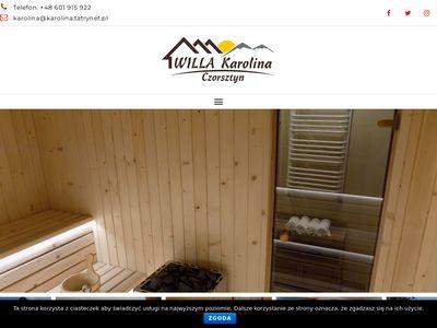 Villa Karolina pokoje do wynajęcia