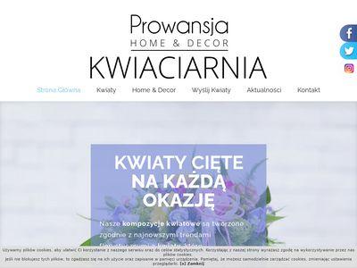 KwiaciarnieProwansja.pl - wiązanki ślubne, Szczecin