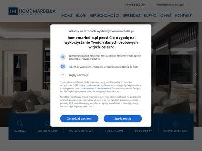 Homemarbella.pl nieruchomości Hiszpania