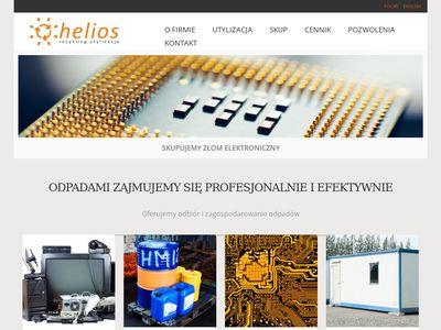 Helios utylizacja chemikalów