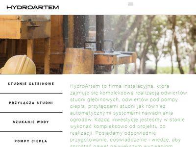 hydroartem.pl szukanie wody