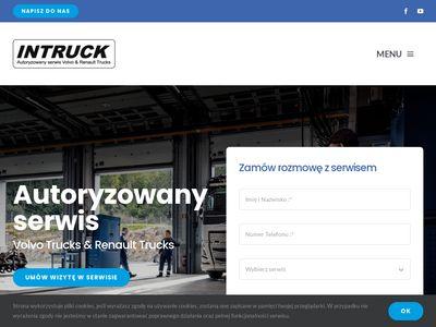Intruck - serwis pojazdów ciężarowych