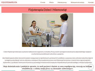 Fizjoterapeuta-dzieci.pl Katarzyna Płonka