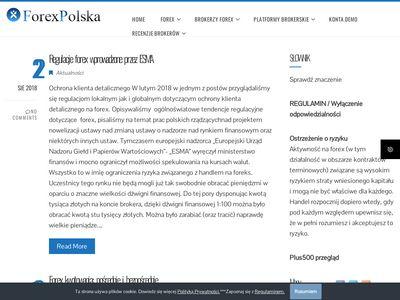Forexpolska.pl jak zobyć umiejętności handlu na forex