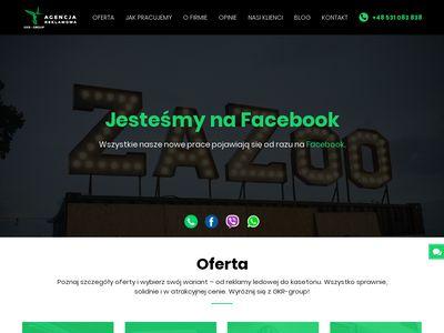 Gkr-group.pl litery przestrzenne producent
