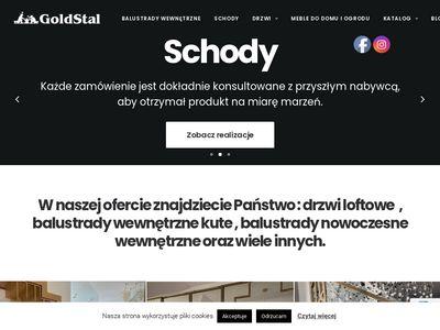 Goldstal.pl drzwi stalowe ze szprosami Warszawa