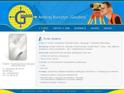 Andrzej Bursztyn geodeta