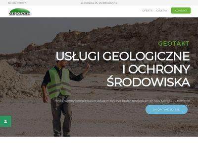 GEOTAKT Badania geologiczne