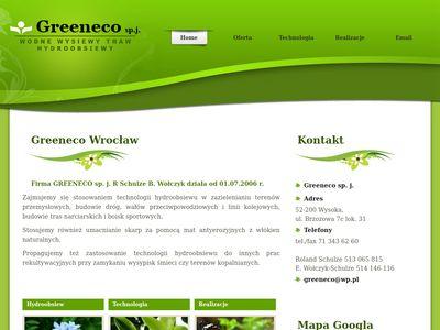 Greeneco s.c. wodne obsiewy