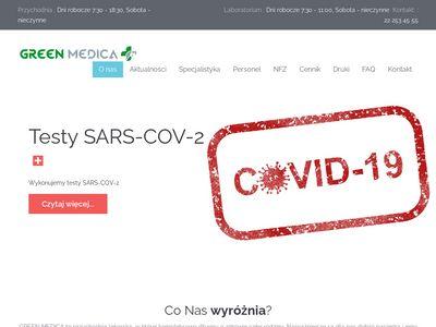 Greenmedica.com.pl - przychodnia