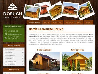 Domkidoruch.pl domki narzędziowe