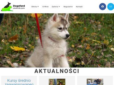 Dogsford - szkolenie psów Gdańsk, Gdynia, Sopot