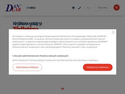 Danlab.pl pompa próżniowa