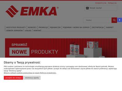 Emka-sklep.com.pl rękawice nitrylowe