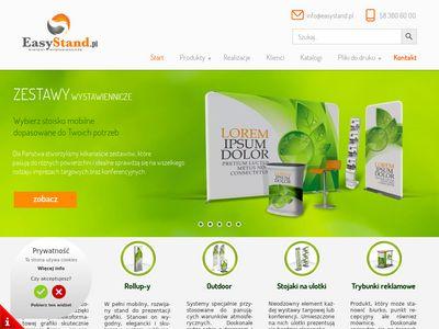 EasyStand - ścianki reklamowe, tekstylne