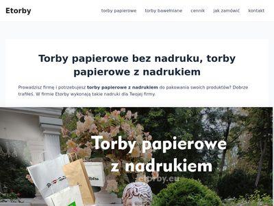 Etorby.eu papierowe z nadrukiem w Lublinie