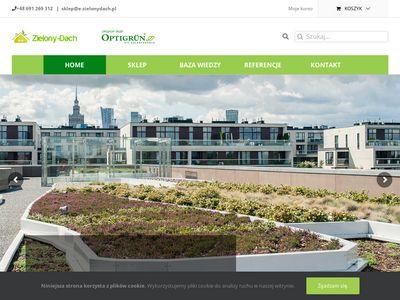 E-zielonydach.pl Zieleń na dachach