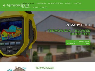 E Termowizja kamera termowizyjna Warszawa