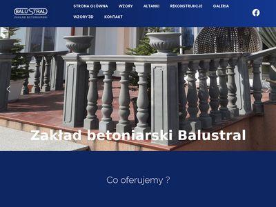 Balustral.pl balustrady betonowe