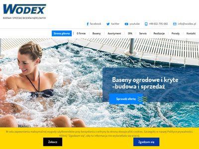 Wodex budowa basenów