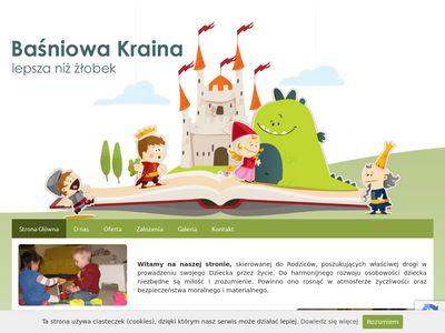 Basniowakraina.net prywatny żłobek