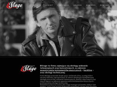 Bstage.pl wypożyczalnie instrumentów muzycznych