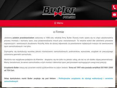 Butler.com.pl montażownice