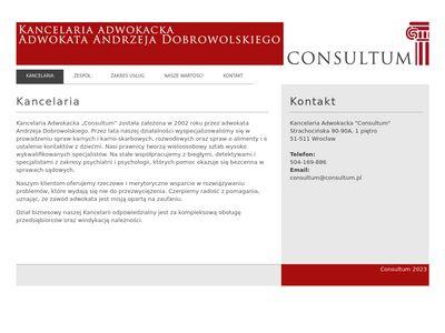 Consultum - obłsuga prawna