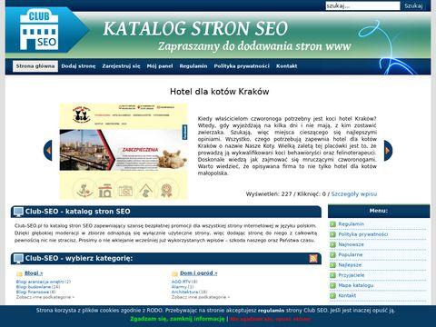 Club SEO - moderowany katalog stron