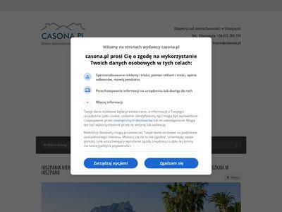 Casona.pl Alicante zakup nieruchomości