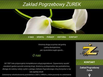Centrumpogrzebowezurek.com zakład pogrzebowy